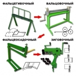 Ручное оборудование для производства прямоугольных воздуховодов, вентиляции